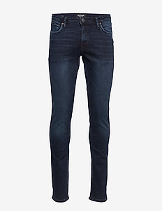 JJIGLENN JJFELIX AM 458 PCW  NOOS - BLACK DENIM