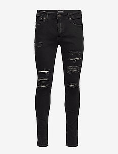 JJILIAM JJORIGINAL AM 502 50 SPS - skinny jeans - black denim