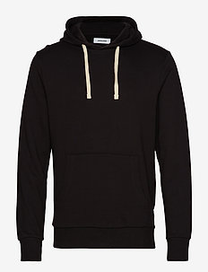JJEHOLMEN SWEAT HOOD NOOS - BLACK