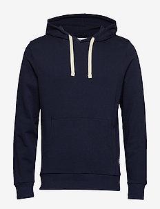 JJEHOLMEN SWEAT HOOD NOOS - podstawowe bluzy - navy blazer