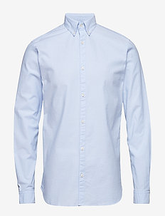 JPRLOGO STRETCH SHIRT L/S NOOS - business shirts - cashmere blue