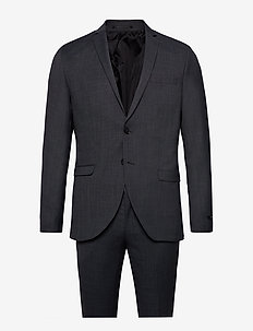 JPRSOLARIS SUIT - single breasted suits - dark grey
