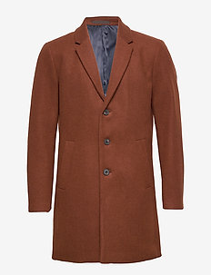 JPRMOULDER WOOL COAT STS - CAPPUCCINO