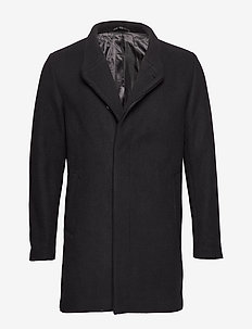 JPRCOLLUM WOOL COAT STS - BLACK