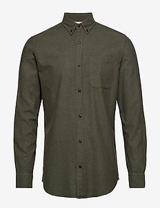 JJEMELANGE SHIRT L/S NOOS - OLIVE NIGHT
