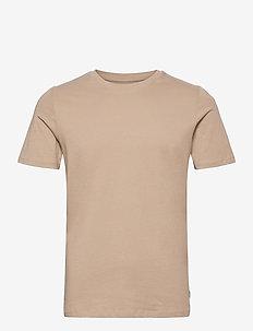 JJEORGANIC BASIC TEE SS O-NECK - basic t-shirts - crockery