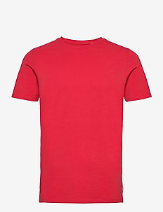 JJEORGANIC BASIC TEE SS O-NECK NOOS - basic t-shirts - true red