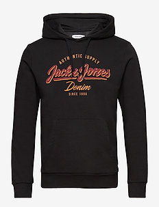 JJELOGO SWEAT HOOD 2 COL 19/20 NOOS - BLACK