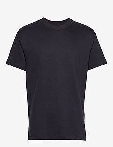 JPRNIGHT BLA. TEE SS CREW NECK - DARK NAVY