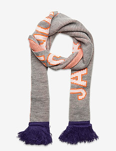 JACMAC KNIT SCARF - sjalar & halsdukar - light grey melange