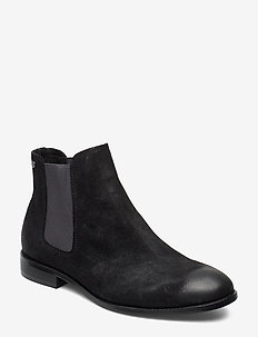 JFWPETER WAXED SUEDE ANTHRACITE NOOS - ANTHRACITE