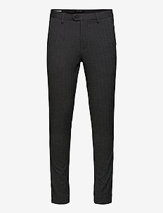 JJIMARCO JJCONNOR AKM 769 HERRING STS - suit trousers - dark grey