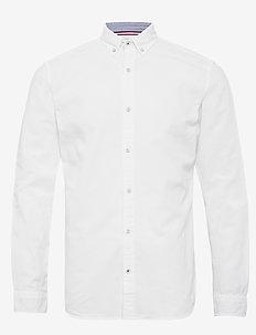 JJESUMMER SHIRT L/S S21 STS - basic skjorter - white