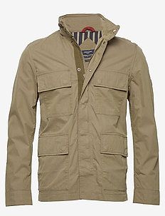 JPRLEE FIELD JACKET BLU - DUSKY GREEN