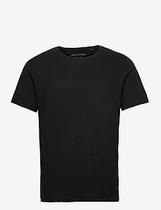 JJELINEN BASIC TEE SS CREW NECK STS - basic t-shirts - black