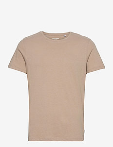 JJELINEN BASIC TEE SS CREW NECK STS - basic t-shirts - crockery