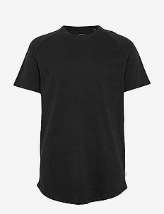 JJECURVED TEE SS O-NECK NOOS - basis-t-skjorter - black