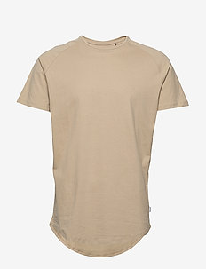JJECURVED TEE SS O-NECK NOOS - basic t-shirts - crockery