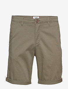 JJIBOWIE JJSHORTS SOLID SA STS - DUSTY OLIVE