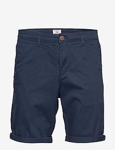 JJIBOWIE JJSHORTS SOLID SA STS - chinos shorts - navy blazer