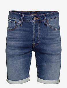 JJIRICK JJICON SHORTS GE 006 I.K STS - BLUE DENIM