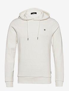 JPRBLAHARDY SWEAT HOOD PRE STS - basic sweatshirts - blanc de blanc