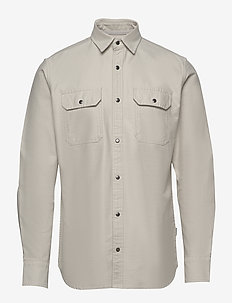 JCOPETER DENIM SHIRT LS WORKER - basic skjorter - glacier gray