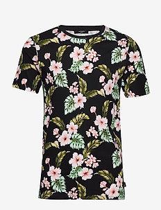 JPRDALE BLA. TEE SS CREW NECK PRE - t-shirts à manches courtes - black