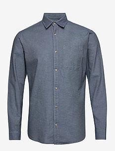 JPRBLUSEAN SHIRT L/S ONE POCKET - casual skjortor - bering sea
