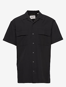 JCOMONO SHIRT SS WORKER - basic skjorter - black