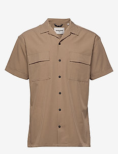 JCOMONO SHIRT SS WORKER - basic shirts - dune