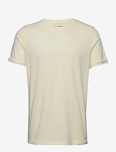 JORLEVEL TEE SS CREW NECK - basic t-shirts - flan