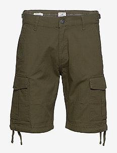 JJIALFA JJCARGO SHORTS AKM 904 - cargo shorts - olive night