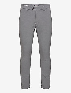 JJIMARCO JJCONNOR AKM 909 GREY MEL NOOS - suit trousers - grey melange