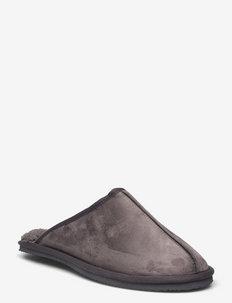 JFWDUDELY MICROFIBER SLIPPER CASTLEROCK - tossut - castlerock