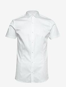 JPRBLAPARMA SOLID SHIRT S/S PLAIN - basic skjorter - white