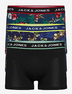 JACFLOWER TRUNKS 3 PACK.NOOS - boxershorts - black