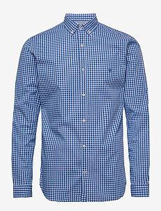 JPRBLAGINGHAM CLASSIC SHIRT L/S - casual skjortor - blue depths