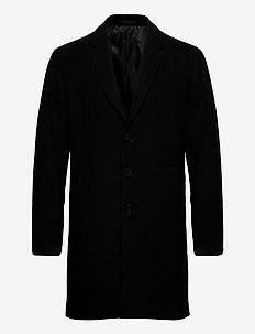 JJEMOULDER WOOL COAT STS - manteaux de laine - black