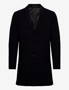 JJEMOULDER WOOL COAT STS - villakangastakit - dark navy