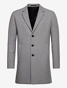 JJEMOULDER WOOL COAT STS - wool coats - light grey melange