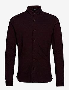 JPRBLAJACE LS JERSEY SHIRT - basic skjorter - vineyard wine