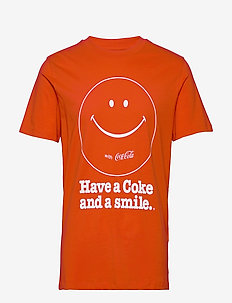 JPRLANCE BLA. TEE SS CREW NECK - t-shirts à manches courtes - red dahlia