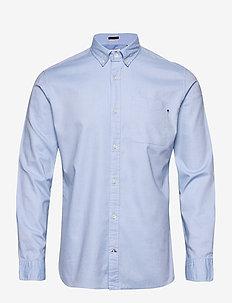 JJECLASSIC SOFT OXFORD SHIRT L/S - basic skjortor - cashmere blue