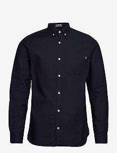 JJECLASSIC SOFT OXFORD SHIRT L/S NOOS - basic skjorter - navy blazer