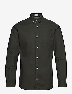 JJECLASSIC SOFT OXFORD SHIRT L/S NOOS - chemises basiques - olive night