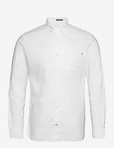 JJECLASSIC SOFT OXFORD SHIRT L/S NOOS - basic shirts - white