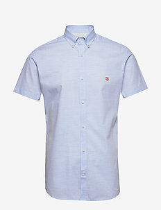 JPRBLASPRING OTTO SHIRT S/S - basic skjortor - cashmere blue