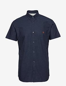 JPRBLASPRING OTTO SHIRT S/S - basic skjortor - navy blazer