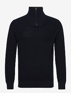JJDESPARADO KNIT PACK - half zip - sky captain